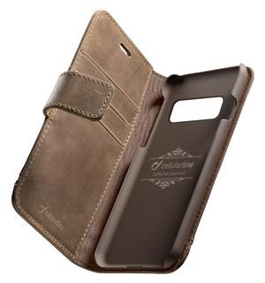 Supreme Leather Case, brown Samsung S10+