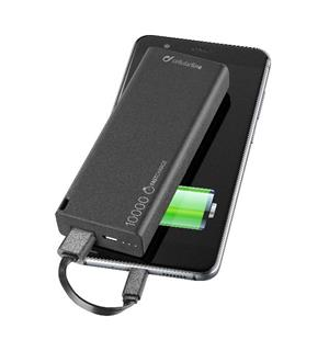 FreePower Slim 10000 mAh Nødlader, svart