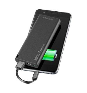 FreePower Slim 5000 mAh Nødlader, svart