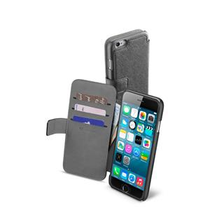 CL Book kort iPhone 6 sort For iPhone 6, Sort