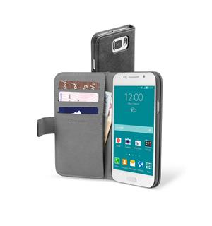 CL Book kort Samsung S6 sort For Samsung S6, Agenda Sort