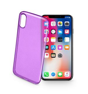 CL Deksel iPhone X, Fiolett Ultraslim for iPhone X