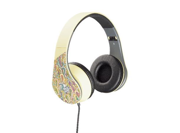 7dd57e30 CL Hodetelefon Musicsound, gul Hi-Fi Stereo hodetelefon uten mikrofon - TT  Micro AS