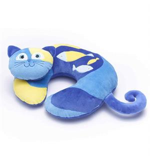 Nakkepute - Kitty the Cat Travel Blue Nakkepute