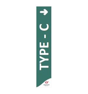 Markedsmateriell - Focus Tag Type C GRAFICA 3X17 TYPE-C