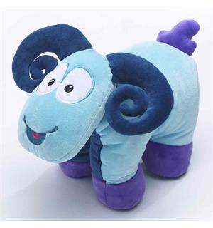 Nakkepute - Sammy the Ram Travel Blue Kosepute / pledd
