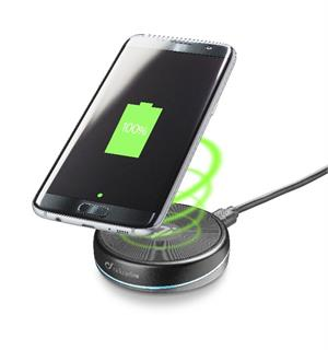 Wireless Fast Charger Twist - 10W output Fast charge trådløs lader 220V