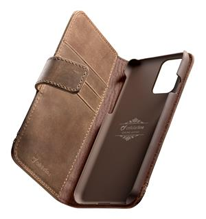 Supreme Leather Case,S20+ brown Samsung S20+