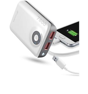 CL Nødlader USB 7800 mAh For Smartphones, iPads, tablets etc